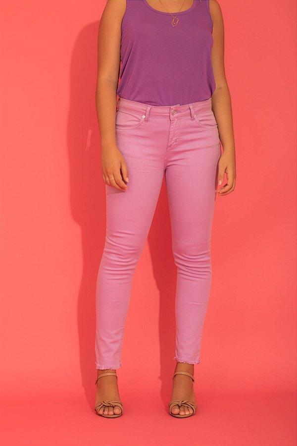 Calça Carol skinny lilás