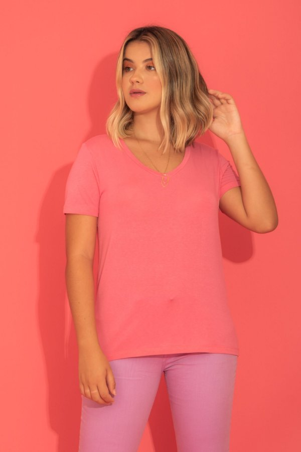 Camiseta Tata rosa