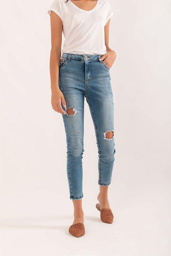 Calça Bianca acid jeans