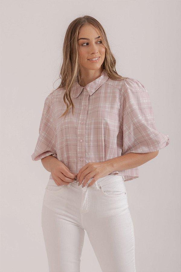 Camisa Campestre rosa
