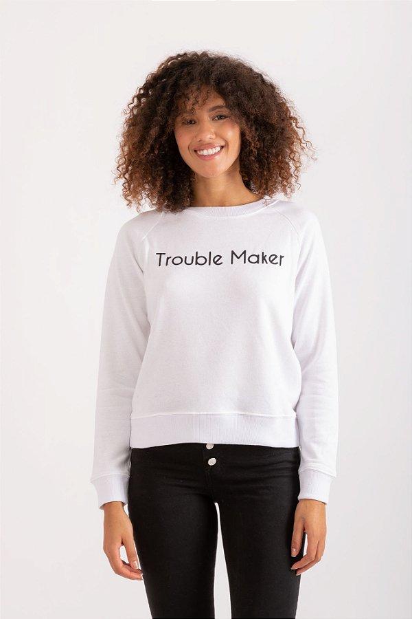 Moletom Maker branco