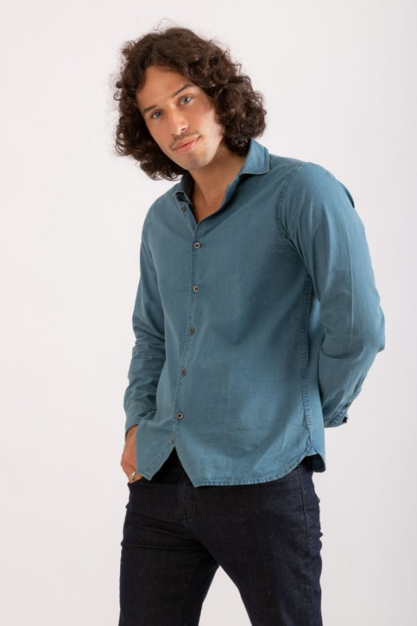 Camisa jeans Ross