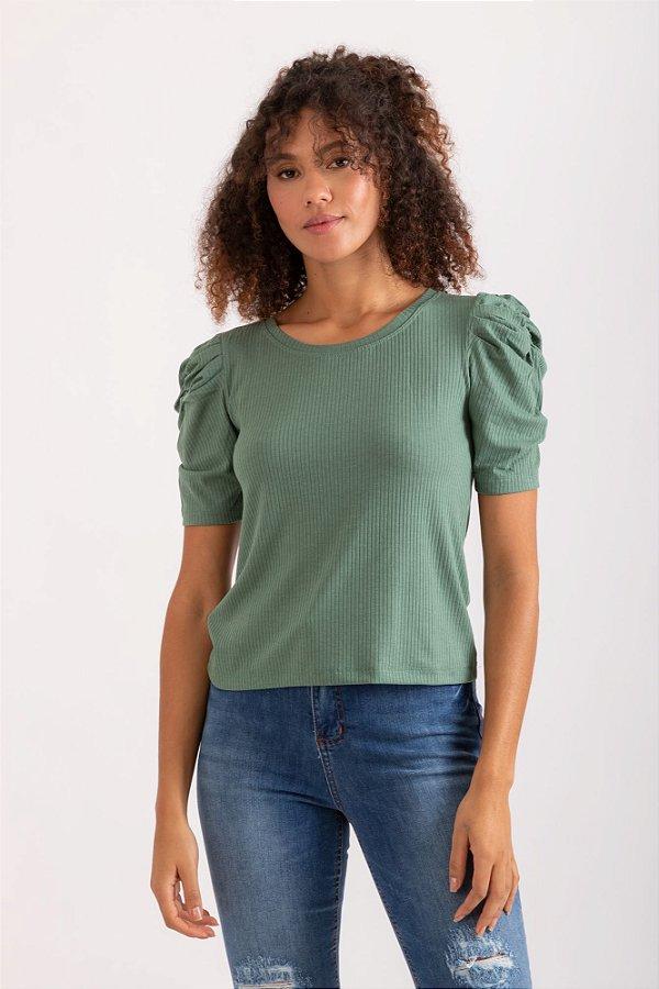 Blusa Elisa verde