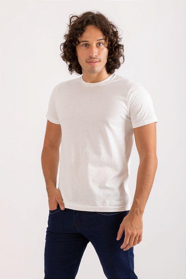 Camiseta básica offwhite