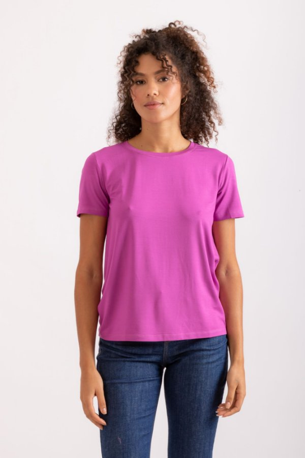 Blusa Fabi roxa