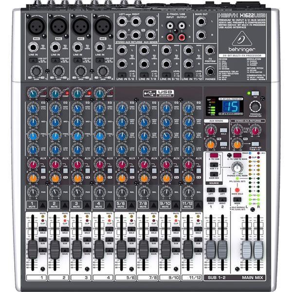 Mesa De Som Behringer Xenyx X1622 USB 110V