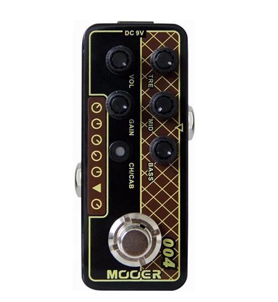 "Pedal Mooer Pre Amplificador ""Day Tripper"" M004"