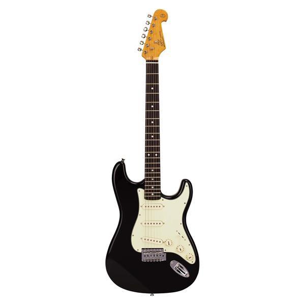 Guitarra SX Stratocaster SST-62 Vintage Black