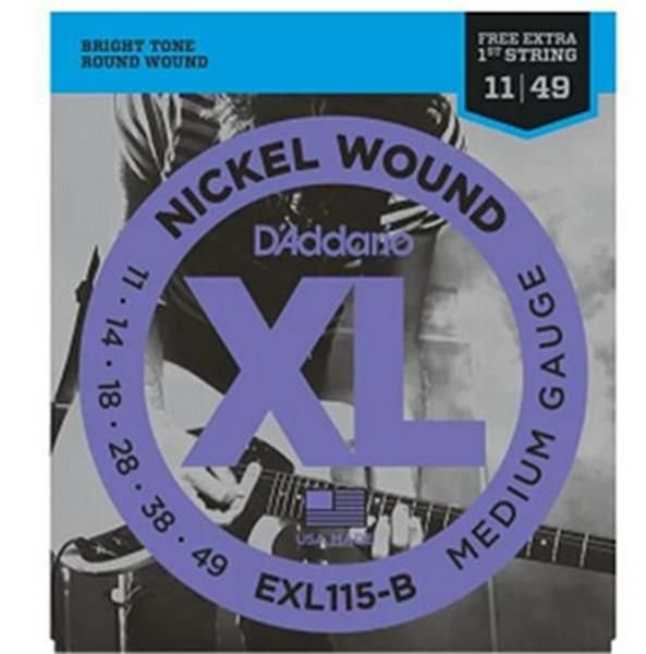 Encordoamento D'addario para Guitarra 0.11 EXL-115B