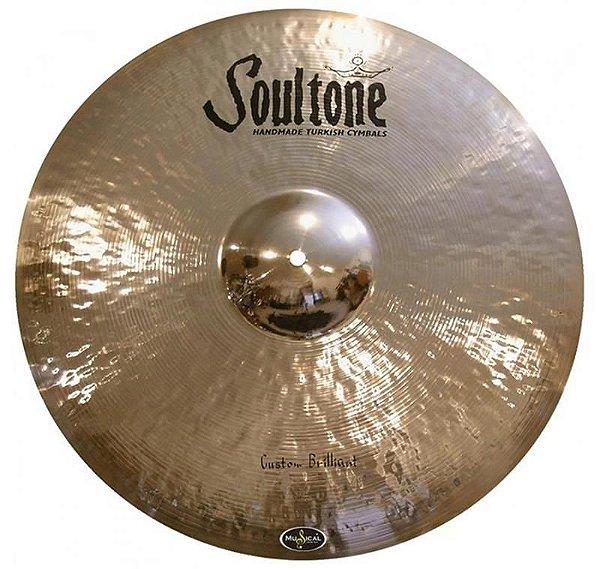 "Prato 16"" Soultone Custom Crash Brilhiant SCBC16"