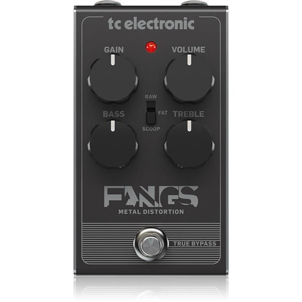 Pedal TC Electronic Fangs Metal Distortion