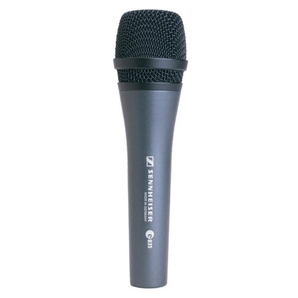 Microfone Sennheiser Com Fio Dinâmico Cardióide E835