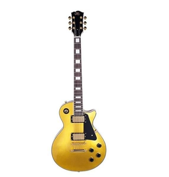 Guitarra SX Les Paul Serie EH-3 Gold
