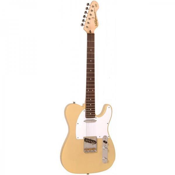 Guitarra Vintage Telecaster V62AB Creme