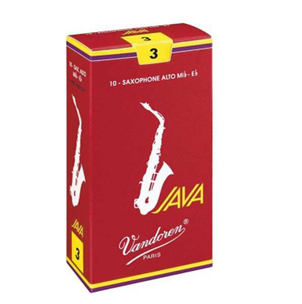 Palheta Vandoren Sax Alto Java Red 3 7812