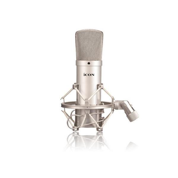 Microfone Condensador Icon M1 com Shock Mount