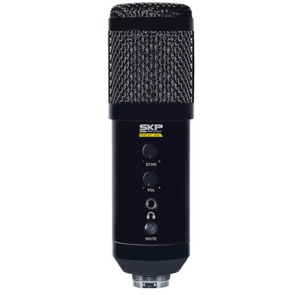 Microfone SKP Condensador Podcast 400U