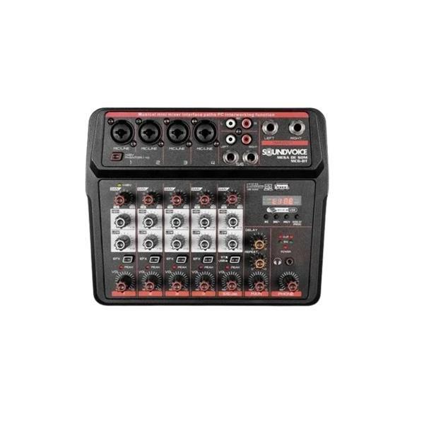 Mesa De Som Soundvoice MC6-BT