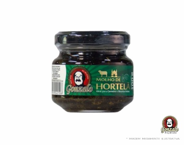 MOLHO DE HORTELÃ - 100g - GONZALO