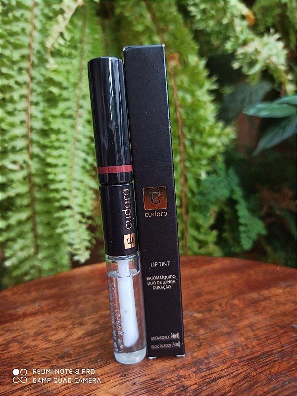 Lip Tint - Batom Líquido Duo - Eudora