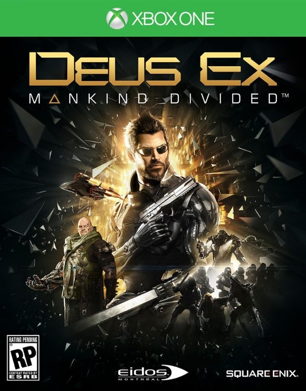 Deus Ex: Mankind Divided - Xbox One - Mídia Digital