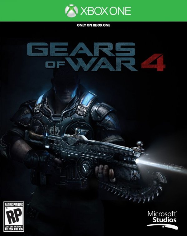 Gears of War 4 - Xbox One - Mídia Digital