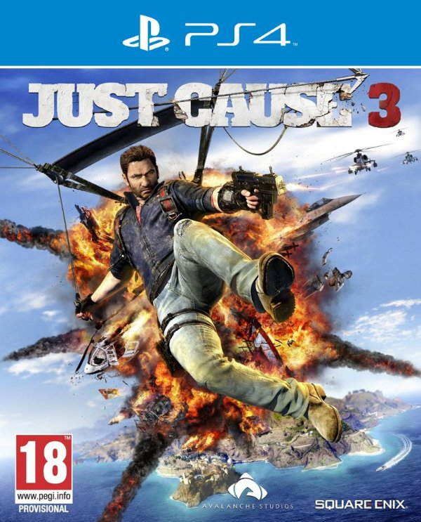 Just Cause 3 - PS4 - Mídia Digital