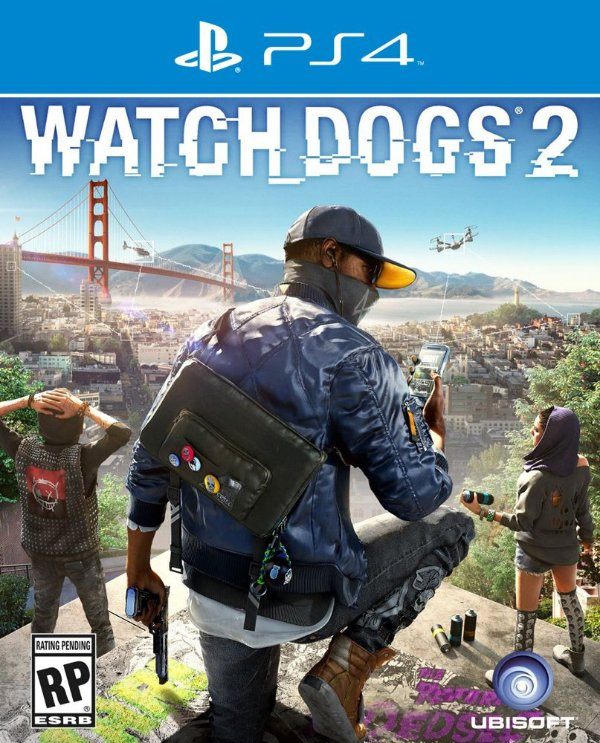 Watch Dogs 2 - PS4 - Mídia Digital