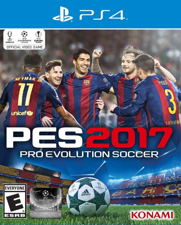 PES 2017: Pro Evolution Soccer - PS4 - Mídia Digital