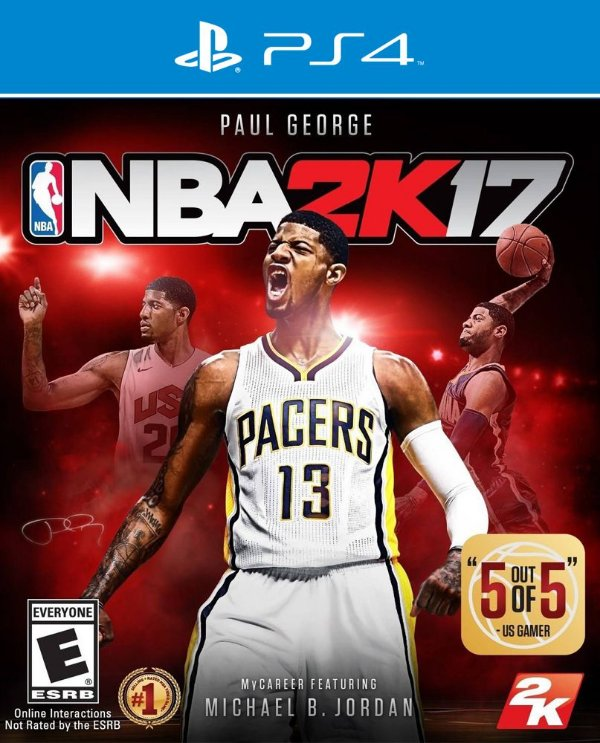 NBA 2K17 - PS4 - Mídia Digital