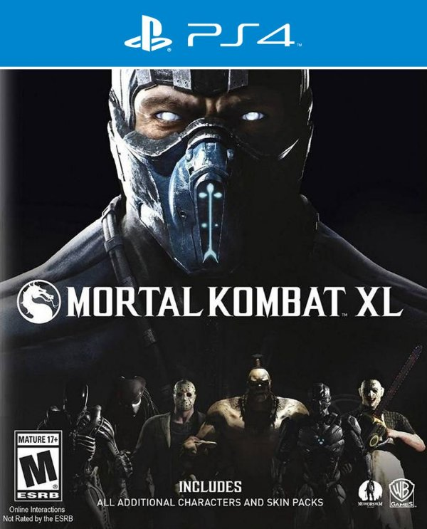 Mortal Kombat XL - PS4 - Mídia Digital