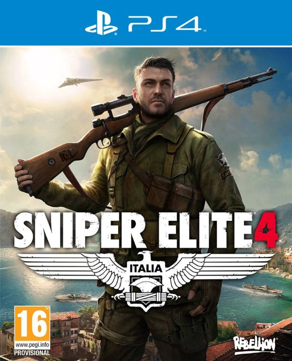 Sniper Elite 4 - PS4 - Mídia Digital