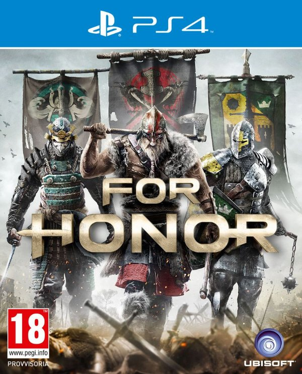 For Honor - PS4 - Mídia Digital