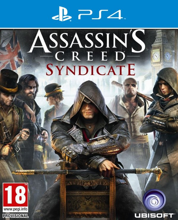 Assassins Creed Syndicate - PS4 - Mídia Digital