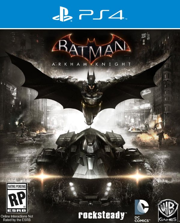 Batman: Arkham Knight - PS4 - Mídia Digital