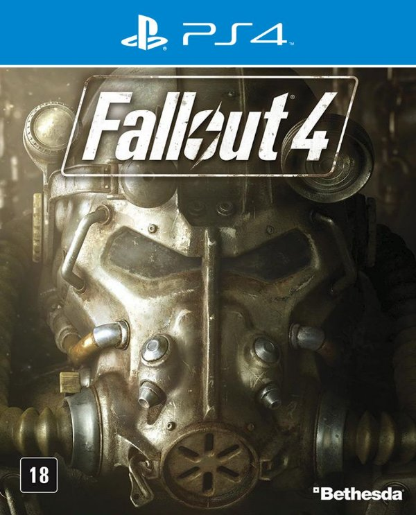 Fallout 4 - PS4 - Mídia Digital