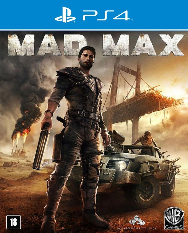 Mad Max - PS4 - Mídia Digital