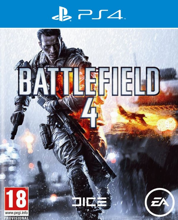 Battlefield 4 - PS4 - Mídia Digital