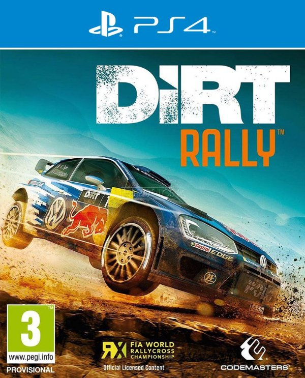 Dirt Rally - PS4 - Mídia Digital