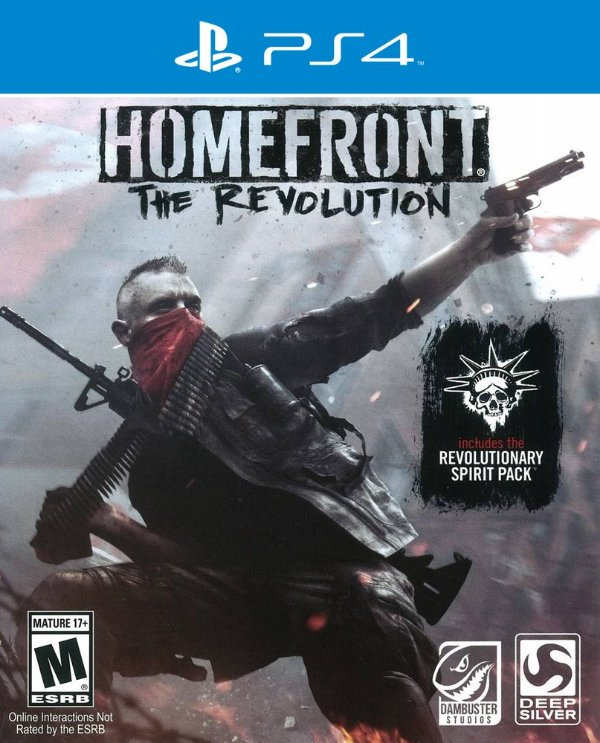 Homefront: The Revolution - PS4 - Mídia Digital