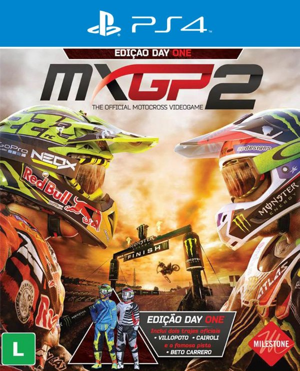 MXGP 2: The Official Motocross Videogame - PS4 - Mídia Digital