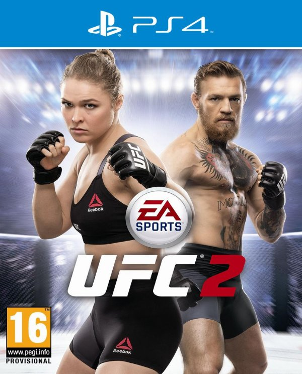 EA Sports UFC 2 - PS4 - Mídia Digital