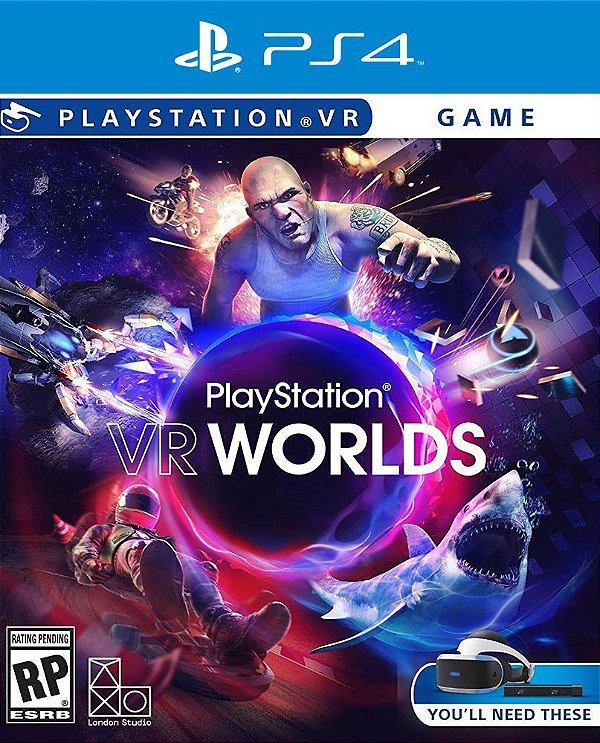 PlayStation VR Worlds - PS4 - Mídia Digital