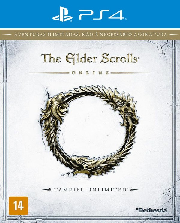 The Elder Scrolls Online: Tamriel Unlimited - PS4 - Mídia Digital
