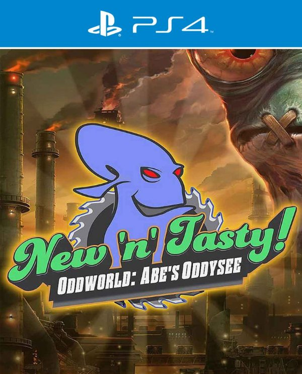 Oddworld: Abe's Oddysee New N' Tasty - PS4 - Mídia Digital