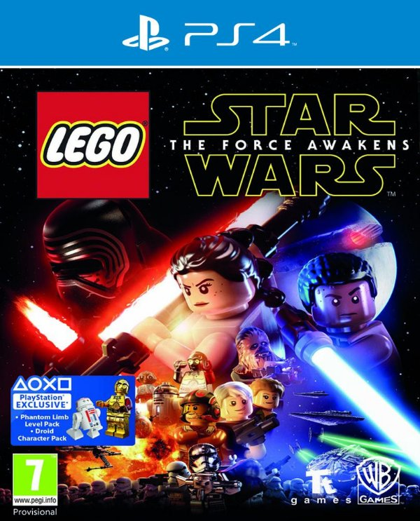 LEGO Star Wars: The Force Awakens - PS4 - Mídia Digital