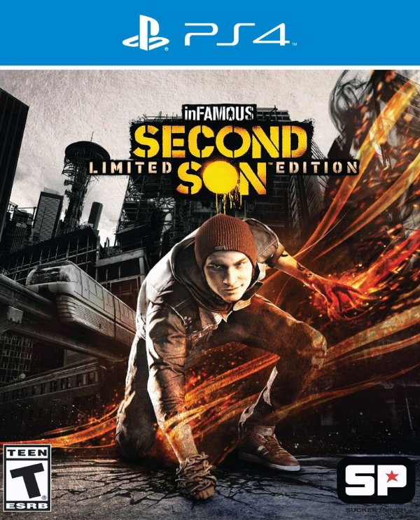 inFamous: Second Son - PS4 - Mídia Digital