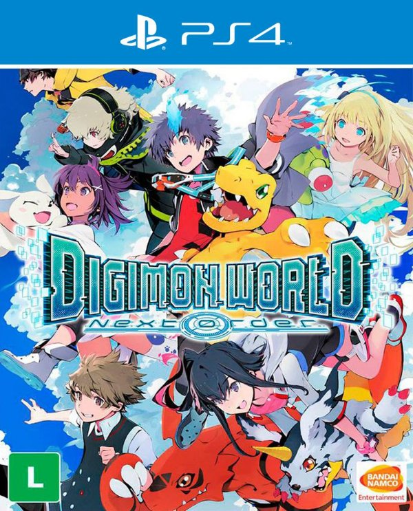 Digimon World: Next Order - PS4 - Mídia Digital