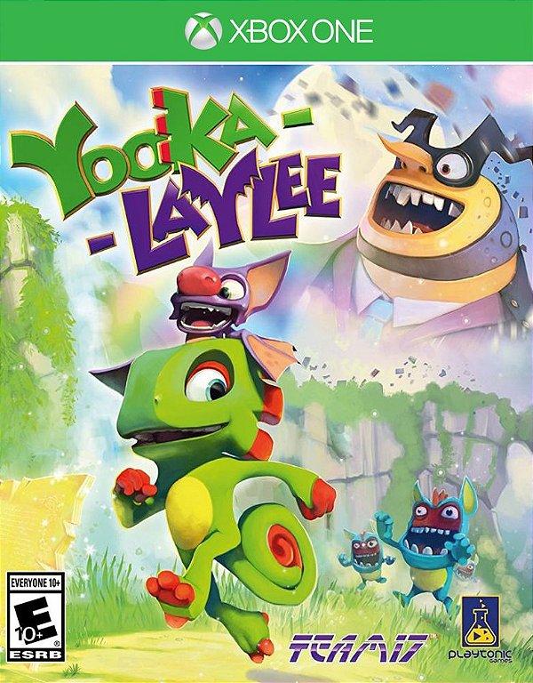 Yooka-Laylee - Xbox One - Mídia Digital