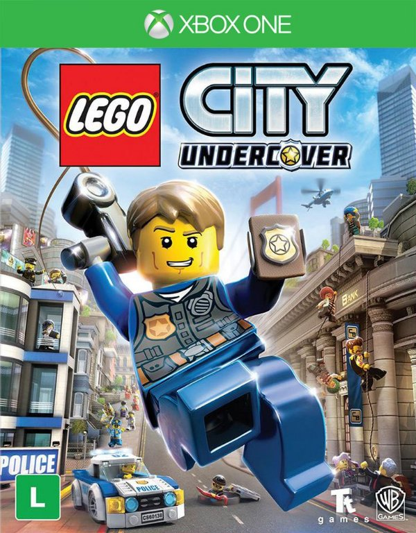 LEGO City: Undercover - Xbox One - Mídia Digital